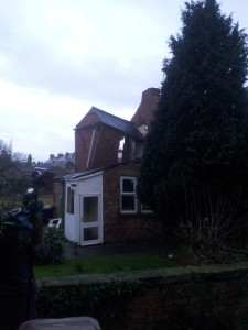 House affected by sinkhole in Magdalens Close, Ripon