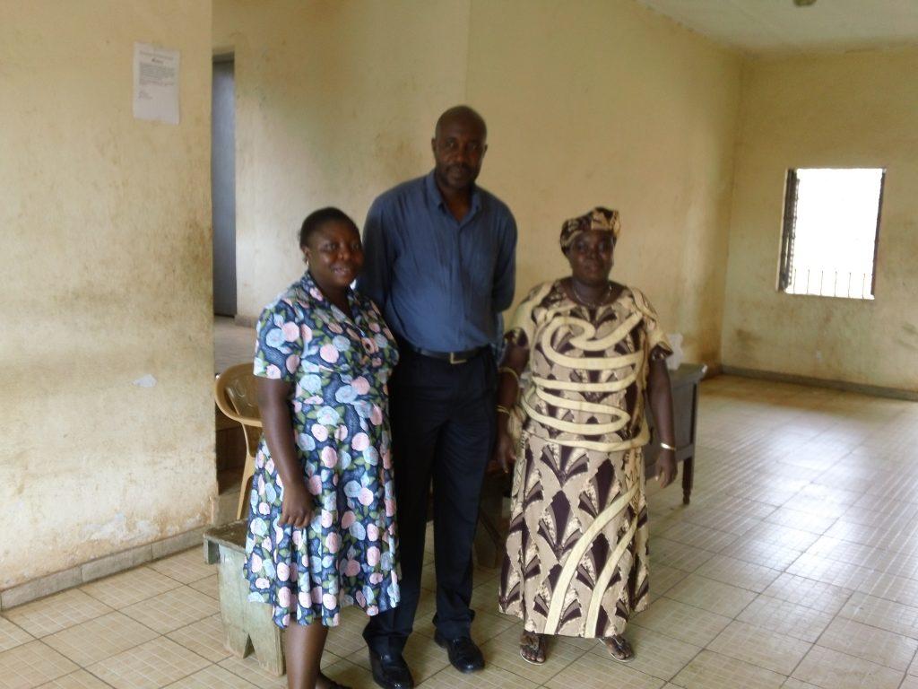 Mental health nurses at the Sierra Leone Psychiatric Hospital in Kissy, Freetown