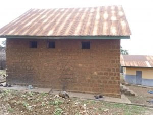 Old seclusion facilities at the Sierra Leone Psychiatric Hospital in Freetown.